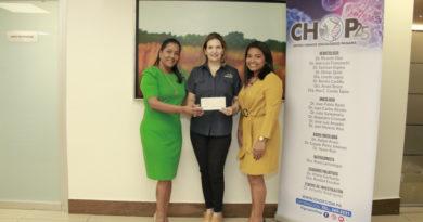 Centro Hemato Oncológico Panamá entregó donación a FUNDACÁNCER