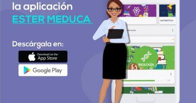 Aplicación móvil ESTER MEDUCA ya está disponible para dispositivos Android y iOS