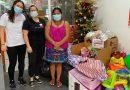 Comunidad indígena del patacón más grande del mundo recibe donaciones de colecta navideña