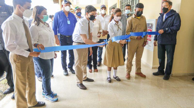 Entregan las nuevas instalaciones del IPTA El Silencio en Bocas del Toro