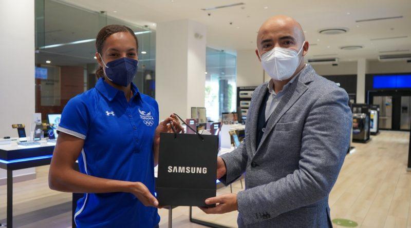Samsung Electronics apoya a la delegación de atletas panameños que participará en las Olimpiadas Tokio 2020