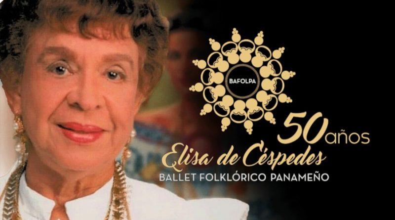 Elisa de Céspedes 50 años enalteciendo a Panamá